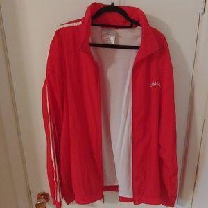 Adidas 3 stripe track suit XL